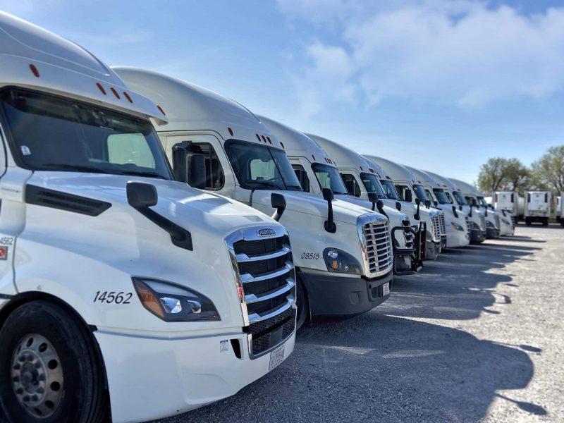 J&Amp;H Trucking Fleet Retouch