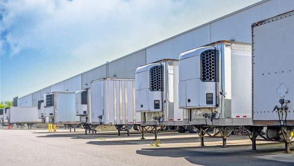 Refrigerated Vans Truck Commercial Transport Services