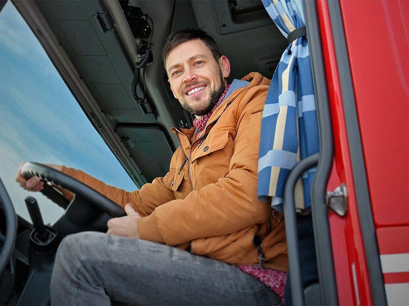 Wichita Truck Driver Man Happy Smiling